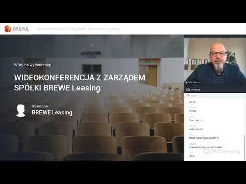Webinar BREWE Leasing 27 października 2020