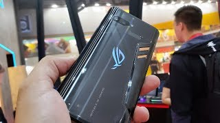 ASUS ROG Phone and accessories Hands-On - It's hot!