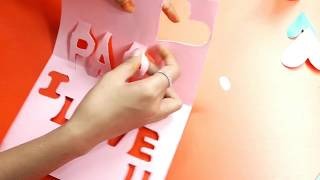 How to Make a Pop up Card for Father's Day - Pop Up Card Tutorial   Father's Day Card Ideas