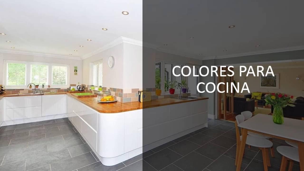 Uso de colores colores para cocina youtube for Colores de cocina