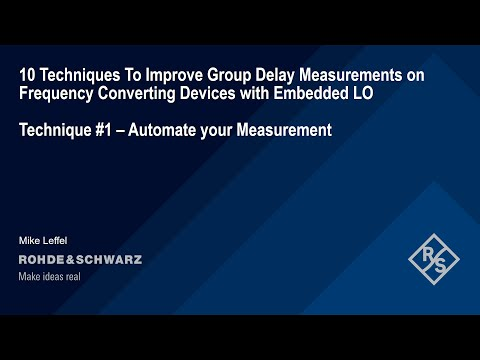 Technique #1: Automate Your Measurement