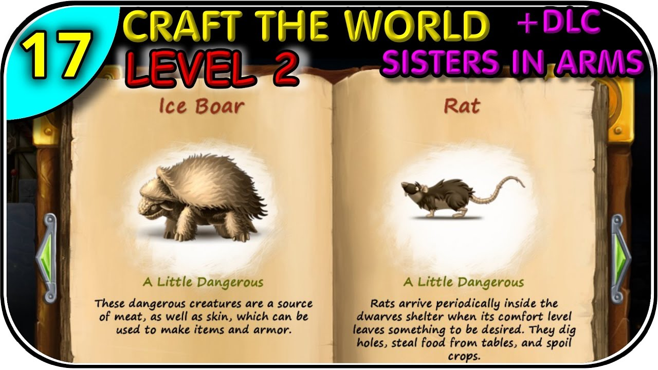 craft the world how to get to level 2