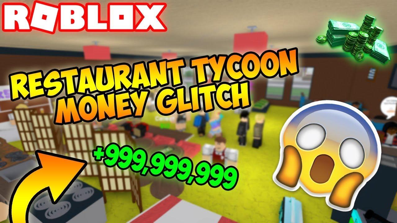 Roblox Insane Restaurant Tycoon Money Glitch Working Youtube