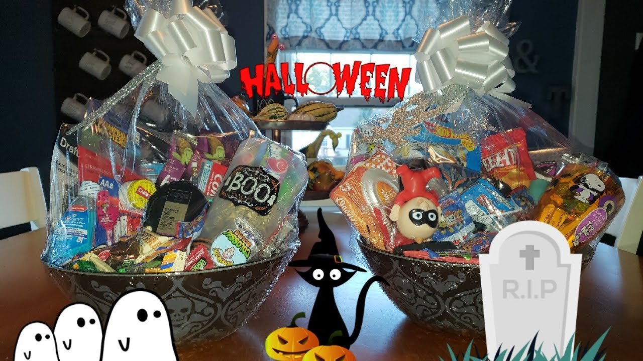 Halloween Gift Basket Ideas For Adults.Diy Halloween Gift Baskets