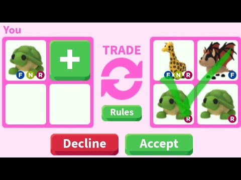 What People Trade For Neon Turtle? || ROBLOX ADOPT ME
