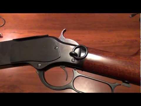 Cimarron/Uberti 1873 Winchester Saddle Ring Carbine-Close Up Look