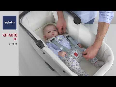 Ремни безопасности детского автокресла от Inglesina   Обзор Mothercare Russia