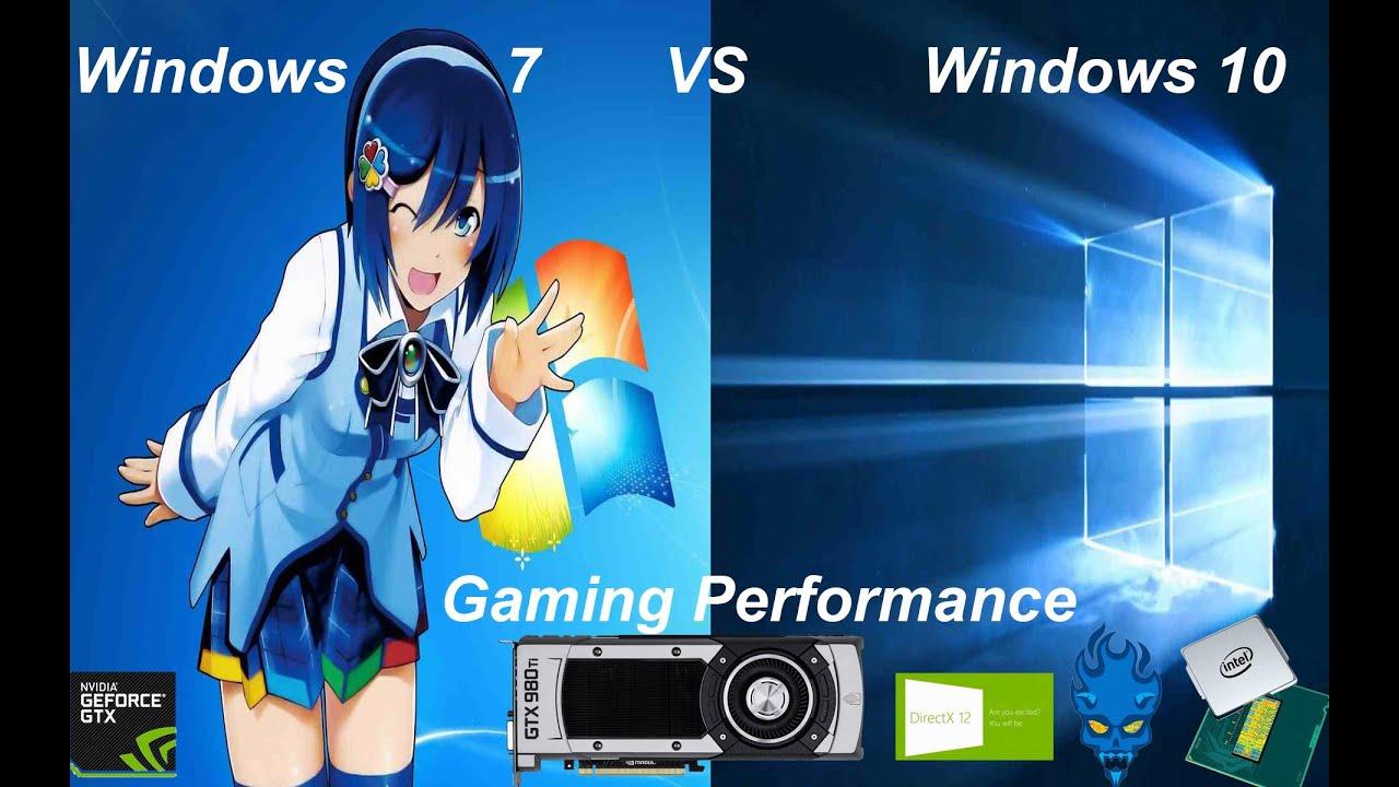 Windows 10 Vs Windows 7 Gaming Performance Gtx 980 Ti