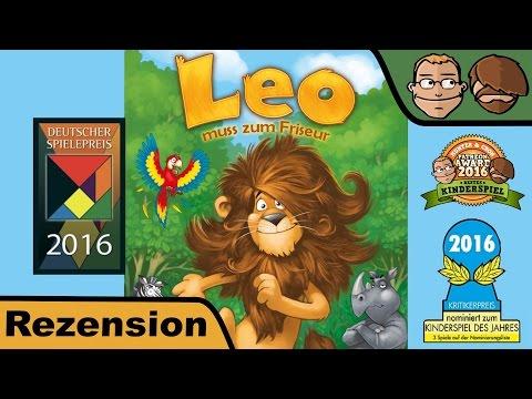 Leo muss zum Friseur (Deutscher Kinderspielpreis 2016) - Brettspiel -  Review