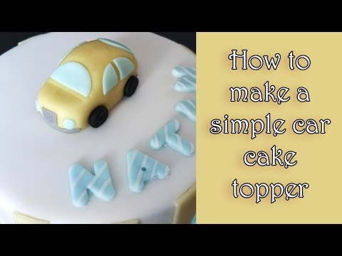 How To Make Fondant Car Tutorial Tutorial Jak Zrobic Auto Z Masy
