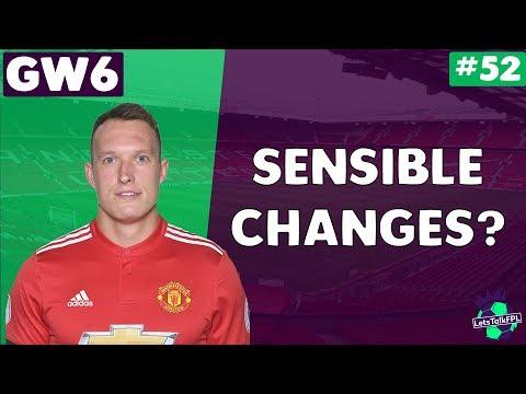 SENSIBLE CHANGES? | Let's Talk Fantasy Premier League 2017/18 | #52