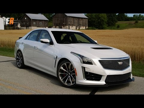2016 Cadillac CTS-V 640 hp Road and Track Review - Road America