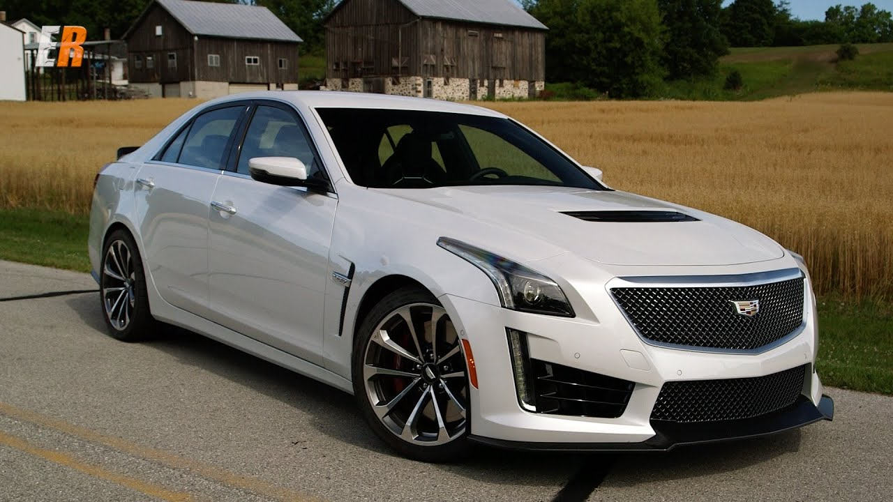 Cadillac Ats V For Sale >> 2017 Cadillac CTS-V 640 hp Road and Track Review - Road America - YouTube