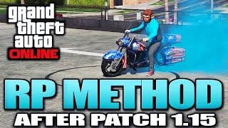 GTA 5 Glitches - RP Method  / 100K 2X RP Per Hour After Patch 1.15 (GTA 5 Glitches)