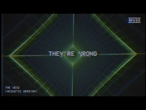 MUSE - The Void (Acoustic) [Official Lyric Video]