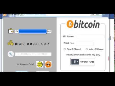 bitcoin auto generátor szoftver