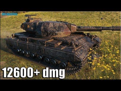 12к урона за 8 минут ✅ World of Tanks Super Conqueror лучший бой