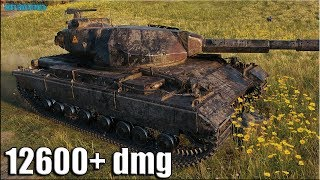 12к урона за 8 минут ✅ World of Tanks Super Conqueror лучший бой