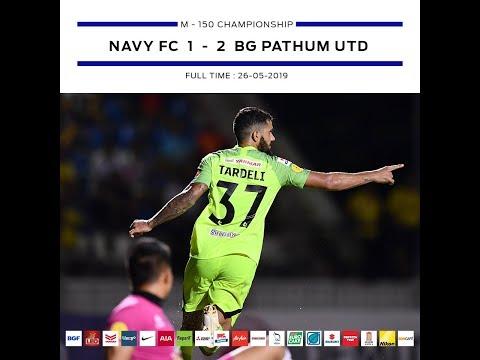 BGTV : BG GOAL T2 2019 NAVY FC VS BGPU (HIGHLIGHT)