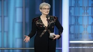 Meryl Streep called out Donald Trump at the Golden Globes