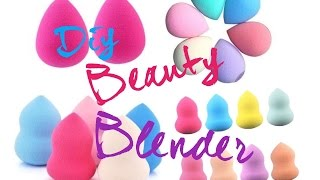 DIY Beauty Blender !!!!