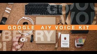 Google AIY Voice Kit | Getting Started with Raspberry Pi 3