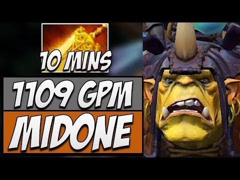 SecretMidone Alchemist 9826 MMR Dota 2 Gameplay 714