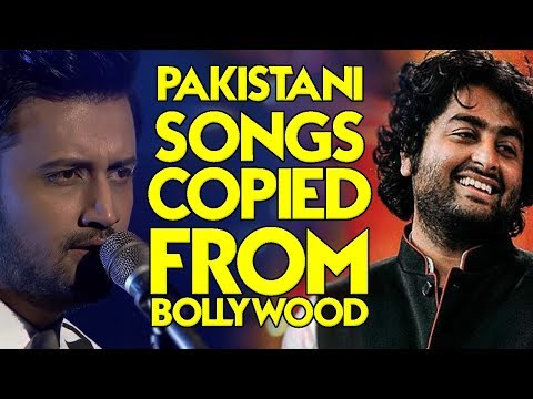 PAKISTANI SONGS COPIED FROM BOLLYWOOD