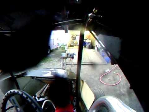 Jamie Ball #5jr In Car Camera, English Creek Speedway 5-8-09