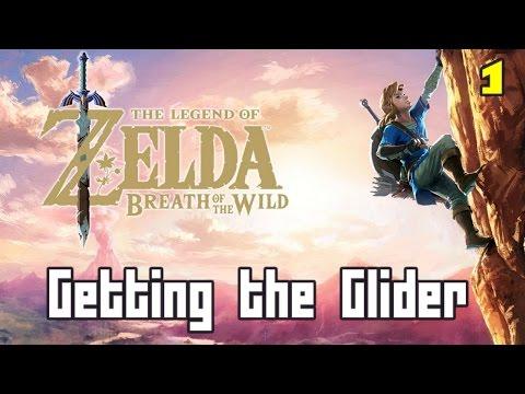 The 4 Trials, Getting the Glider Walkthrough - Zelda Breath of the Wild