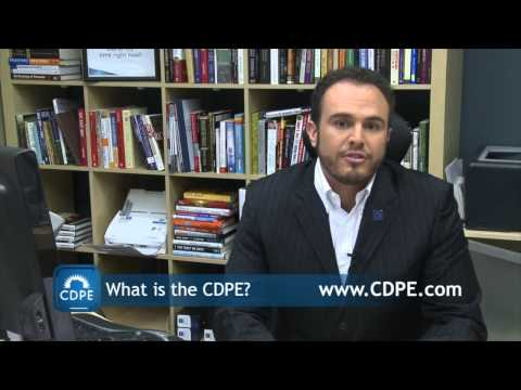 What is the CDPE Designation Explained