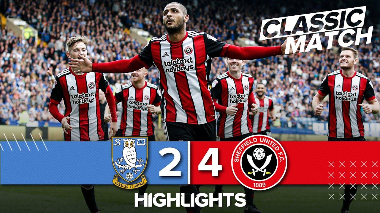 Classic Match Highlights   Sheffield Wednesday 2 - 4 Sheffield United   Duffy seals Sheffield derby.