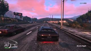 Grand Theft Auto V game play