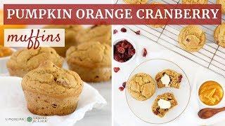 Pumpkin Orange Cranberry Muffins   Gluten-Free Baking   Limoneira