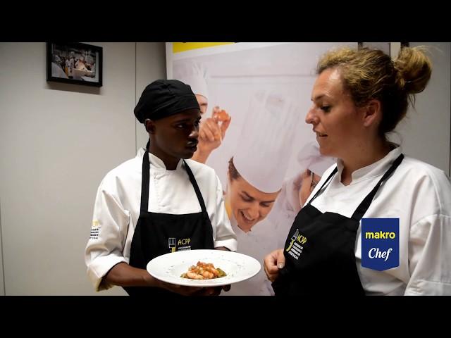 Desafio Makro Chef Camarão Apresentação Pratos