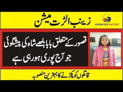 Zainab  Alert Mission |  Baba Bulleh Shah Predicition About Kasur