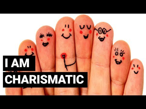 I am Charismatic ~ Create Charisma Positive Affirmations 1 | Affirmations & Law Of Attraction