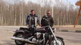 Стёб-драйв 05.2014 - обзор мотоцикла Yamaha Midnight star 1300(Обзор первого мотоцикла на нашем канале. Полуночник (Yamaha Midnight star 1300) 2008 года во всей красе. Все видео снимало..., 2014-06-17T18:05:47.000Z)