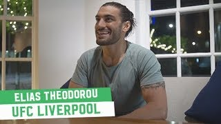 UFC Liverpool: Elias Theodorou talks Fighting Abroad and a Male Fighter Calendar