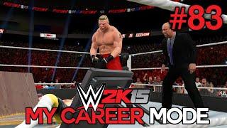 "WWE 2K15 My Career Mode - Ep. 83 - ""THE BEAST AWAKENS!"" [WWE MyCareer XBOX ONE / PS4 Part 83]"