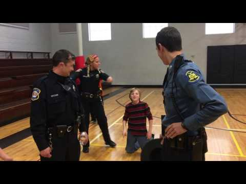 Push Up Challenge, Platte City Police Officer vs MO State Trooper