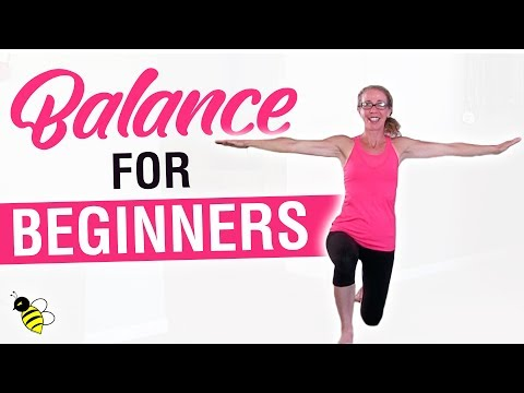 BALANCE for BEGINNERS | 15 Minute Workout, Core Stabilization Exercises to Improve Your Balance