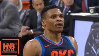 Oklahoma City Thunder vs San Antonio Spurs 1st Half Highlights / March 29 / 2017-18 NBA Season