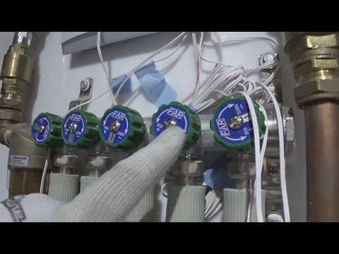 Коллекторный узел. Проверка КПВ Аквасторож. Испытания.