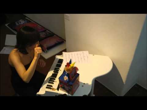 James Joslin - Fuer Enola (2011) for toy piano and jack-in-the-box