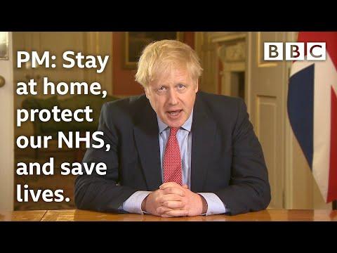 Coronavirus: PM Boris Johnson announces strict new curbs on life in UK @BBC News - BBC
