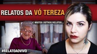 HISTÓRIAS DE ARREPIAR QUE A VÓ DE 80 ANOS CONTA LÁ DO SÍTIO... + ESPÍRITOS NA PADARIA + AYAHUASCA...