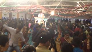 Navratri garba at Gandhi hall,auckland,(2013) day  1