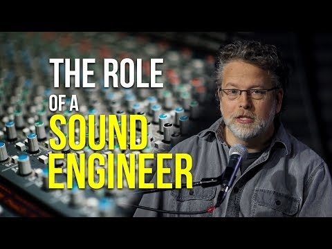 The Role of a Sound Engineer | Sound Engineering Workshop