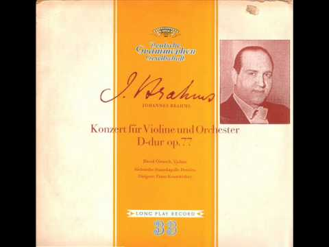 Brahms-Violin Concerto in D Major Op. 77 (Complete)